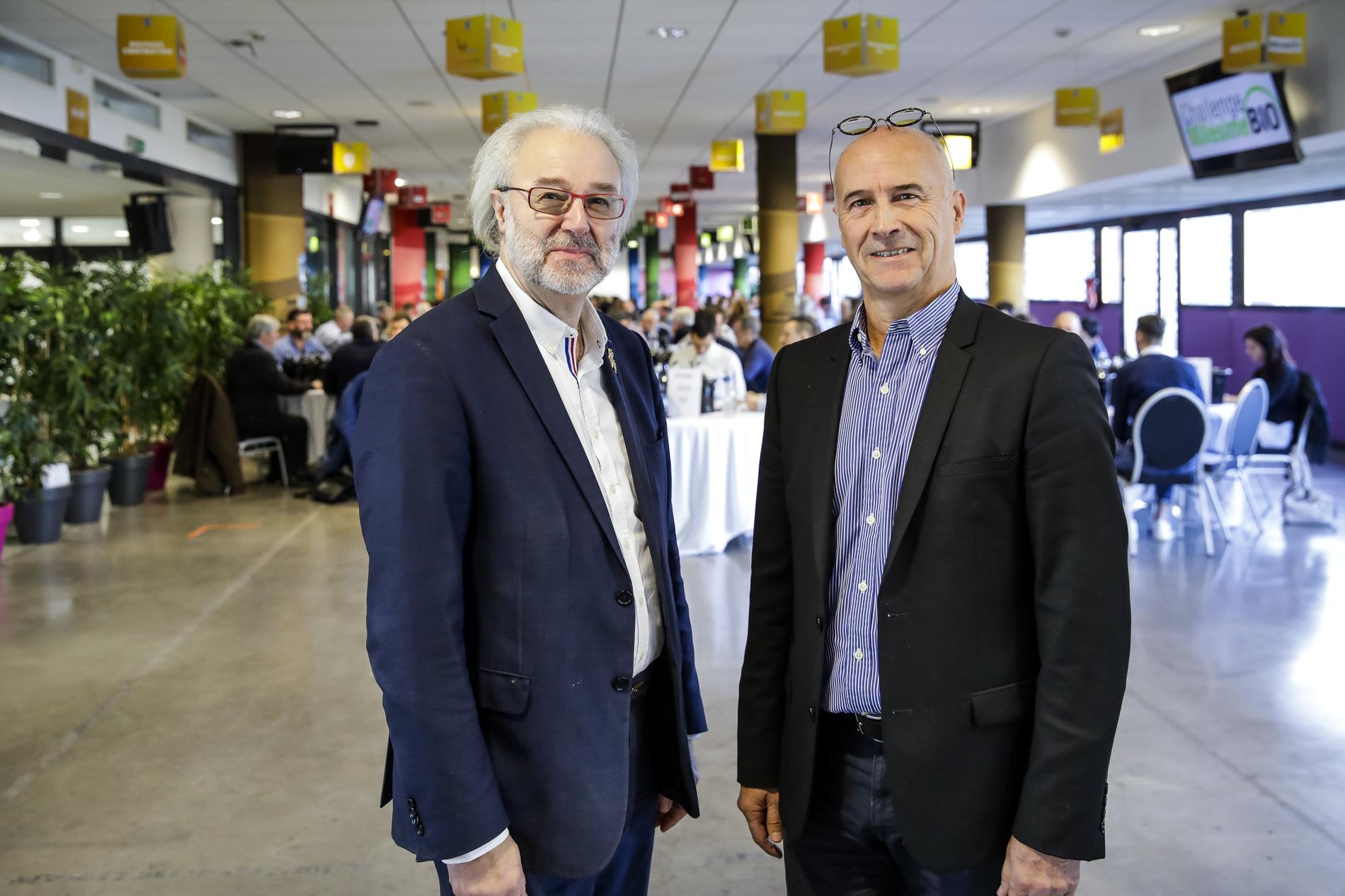 Jacques Frelin und Philippe Faure Brac, der beste Kellermeister der Welt